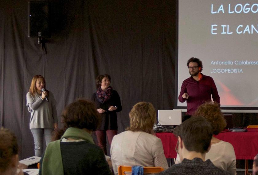 Giovanna Baracca, Antonella Calabrese, Alan Bedin (C)2016 A Gran Voce