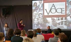 Giovanna Baracca, Alan Bedin, Franco Fussi (c)2016 A Gran Voce