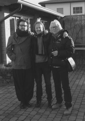 Alan Bedin, Marco Ponchiroli, Luigi Sella. Adegliacco (Udine)