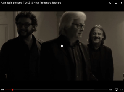 Alan Bedin, Luigi Sella, Marco Ponchiroli @ Hotel Trettenero, Recoaro Terme (VI)