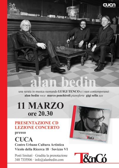 Alan Bedin presenta T&nCò al Centro Urbano Cultura Artistica di Sovizzo, Vicenza
