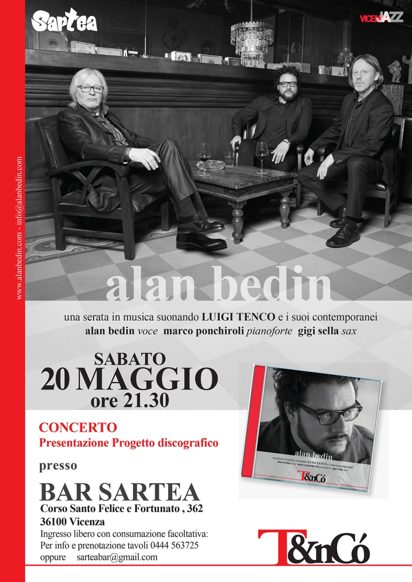 Alan Bedin @ SARTEA, Vicenza